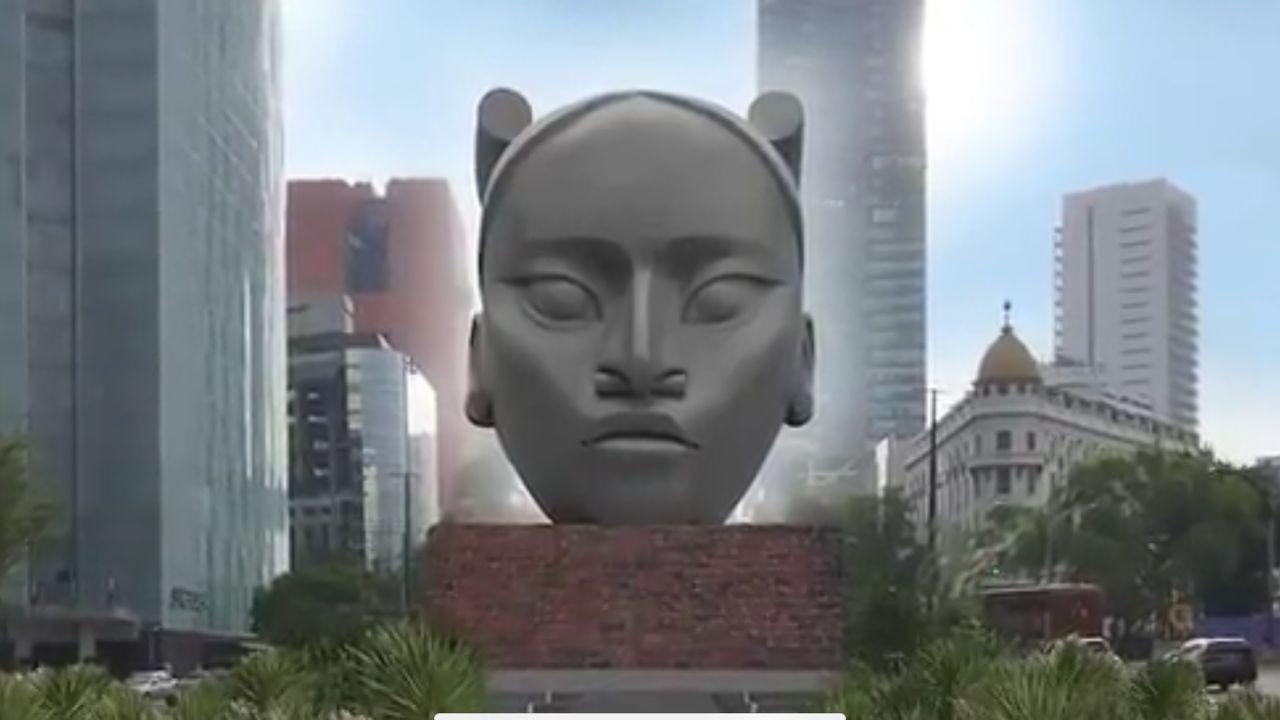 Tlali escultura mujer olmeca ciudad de mexico wakanda
