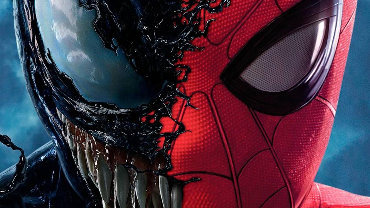 venom 2 crossover spiderman tom holland