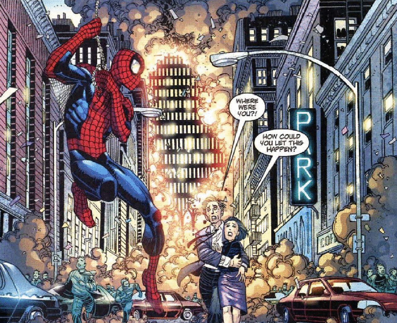 personajes de marvel nueva york