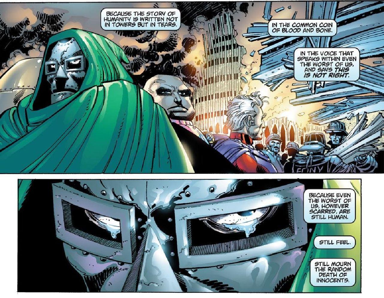 personajes de marvel doctor doom