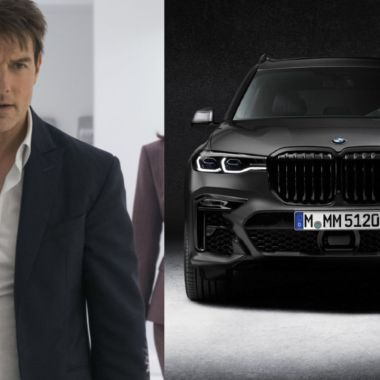 Tom Cruise BMW robado x7