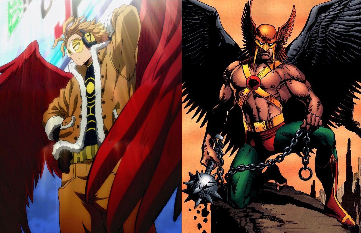 personajes de my hero academia hawkman