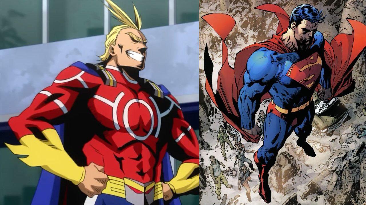 personajes de my hero academia all might