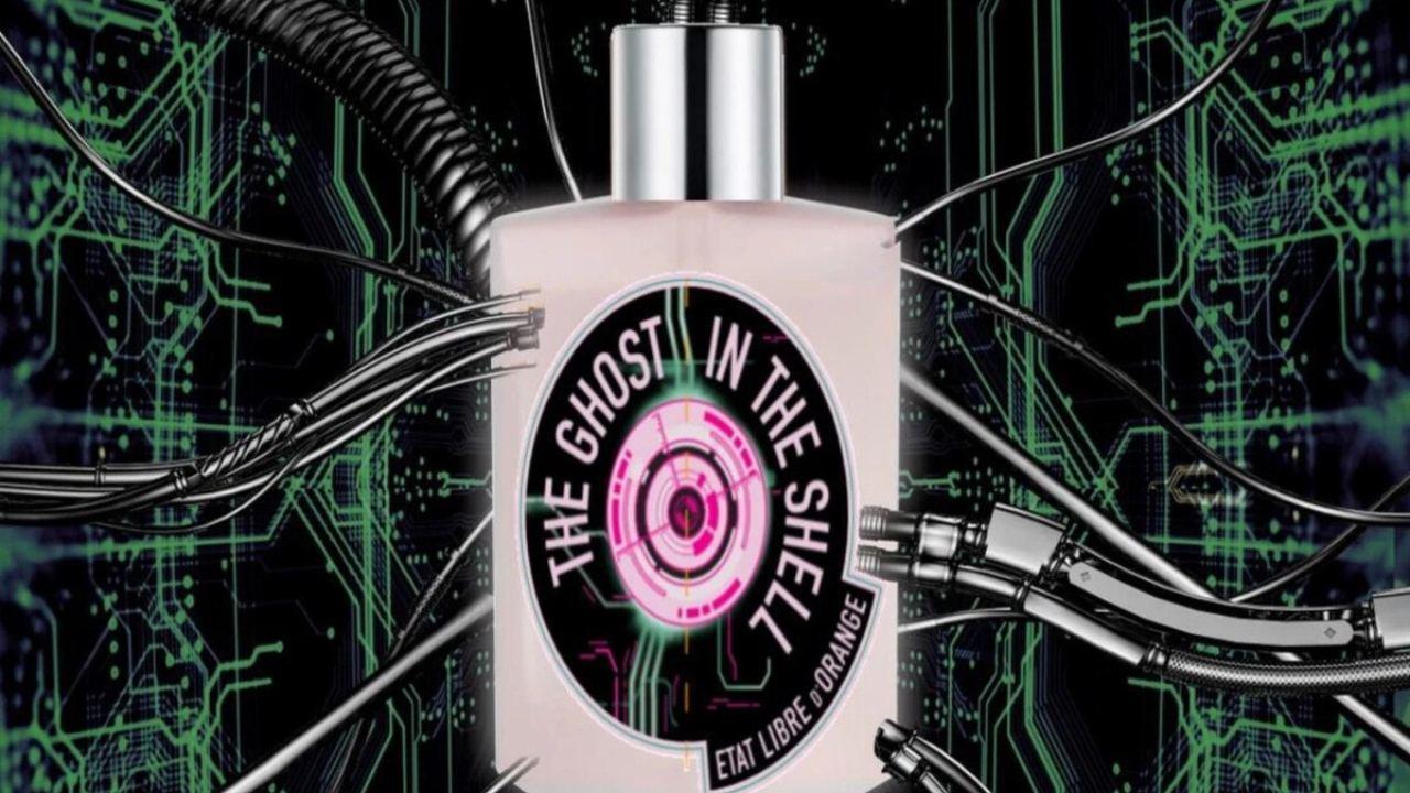 Ghost in the Shell perfume marca francesa