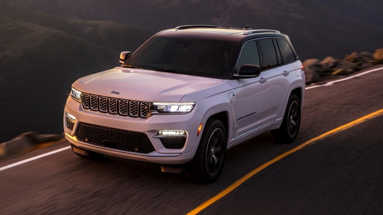 Jeep grand cherokee 2022 hibrido enchufable