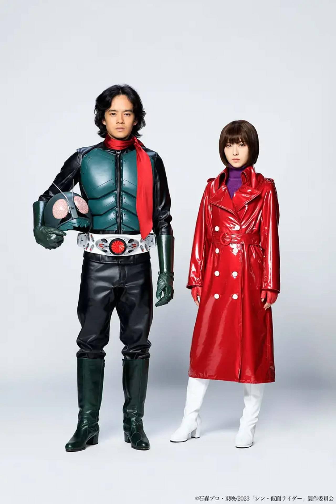 Shin Kamen Raider Película Hideaki Anno Toei Animation Sosuke Ikematsu Minami Hamabe