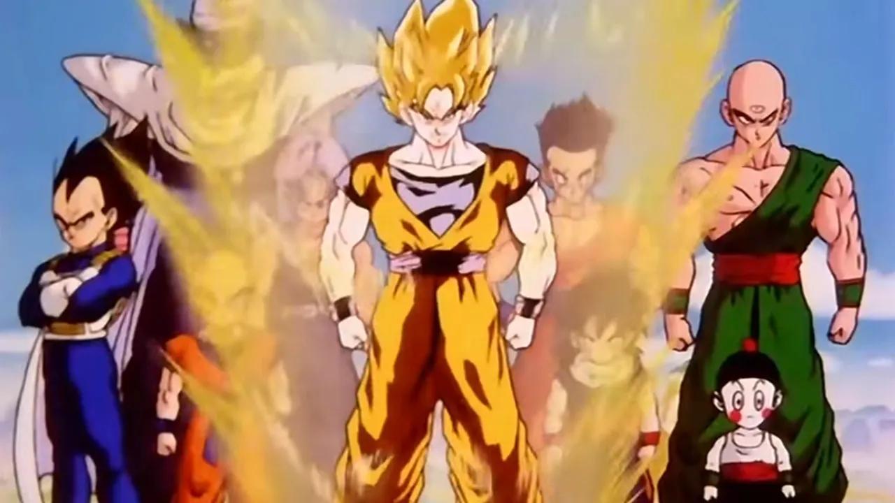 personajes de dragon ball goku