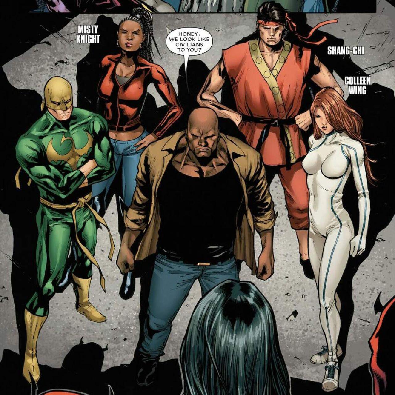 personajes de marvel heroes for hire