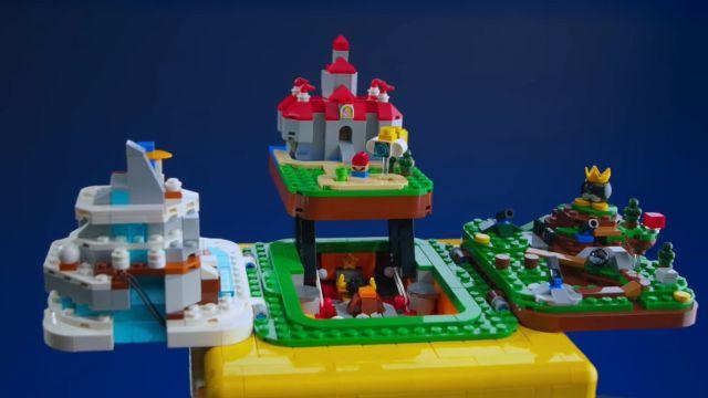 Lego Super Mario 64 Bloque de Interrogación Set de Lego Nintendo