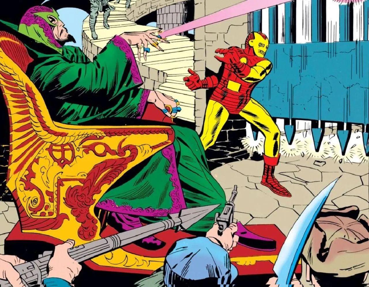 personajes de marvel iron man