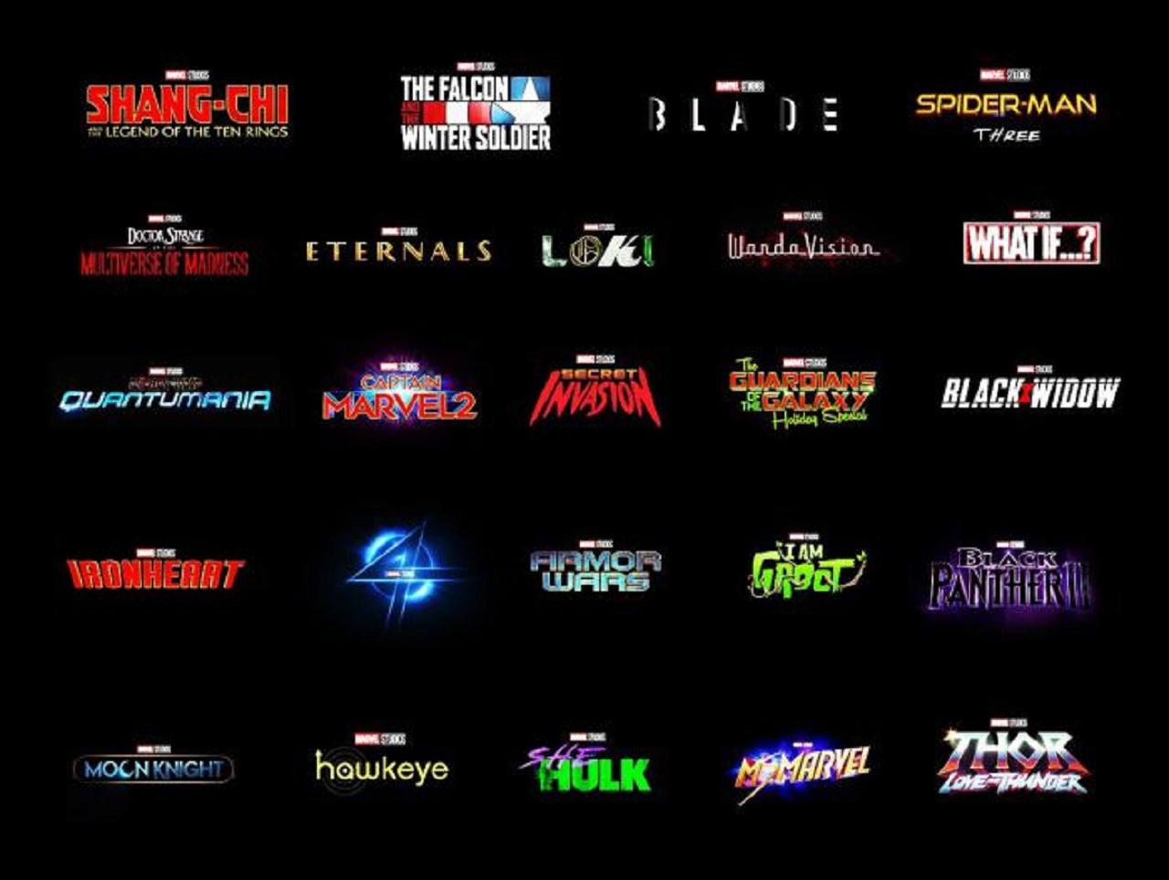 Marvel Studios Películas y Series de Marvel Studios Personajes de Marvel Películas de Marvel