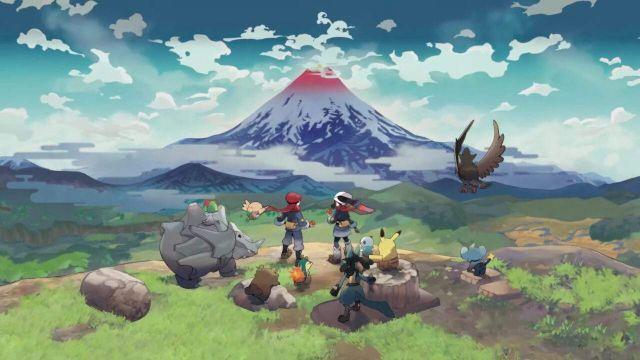 Pokémon legends arceus adelanto juego