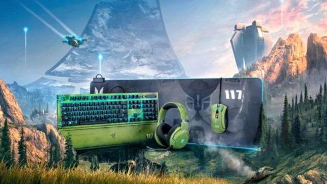 Razer Halo Infinite colaboración periféricos