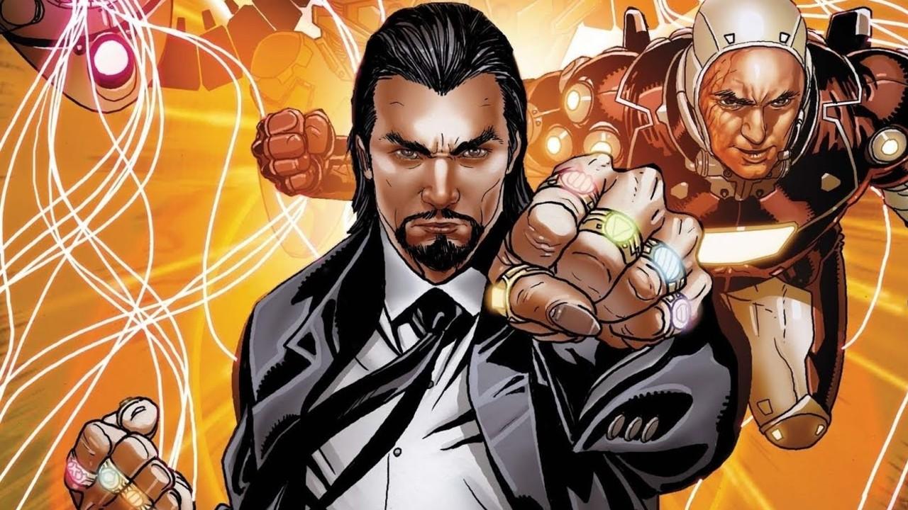 marvel comics el mandarin iron man