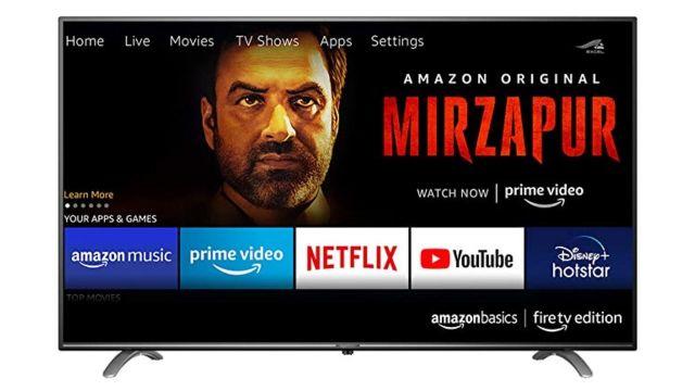 Amazon Smart TV Televisión de Amazon