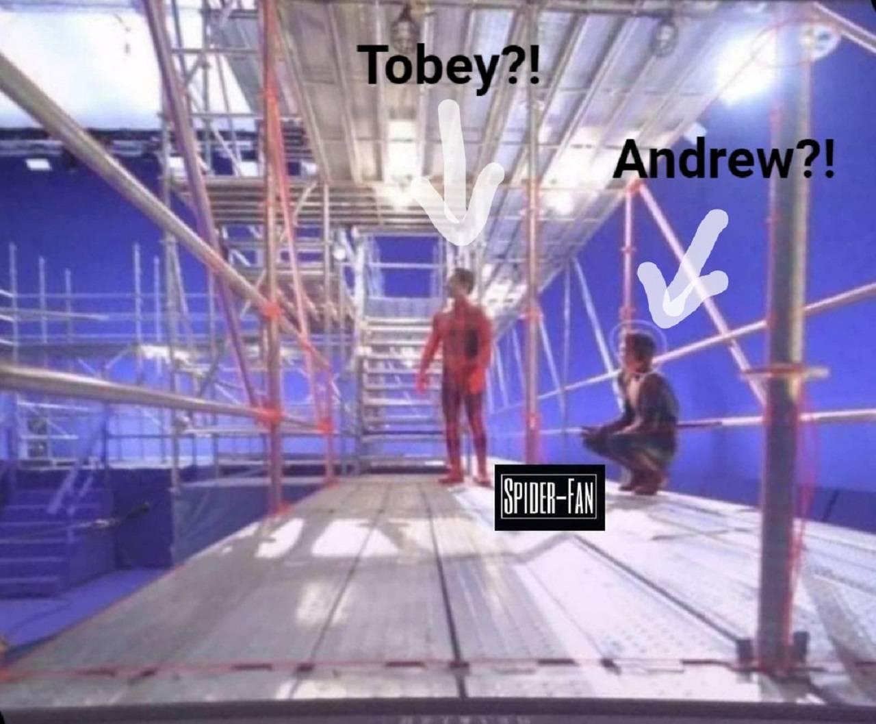 Tobey Maguire Andrew Garfield Spider-Man 3 Imágenes de Spider-Man 3