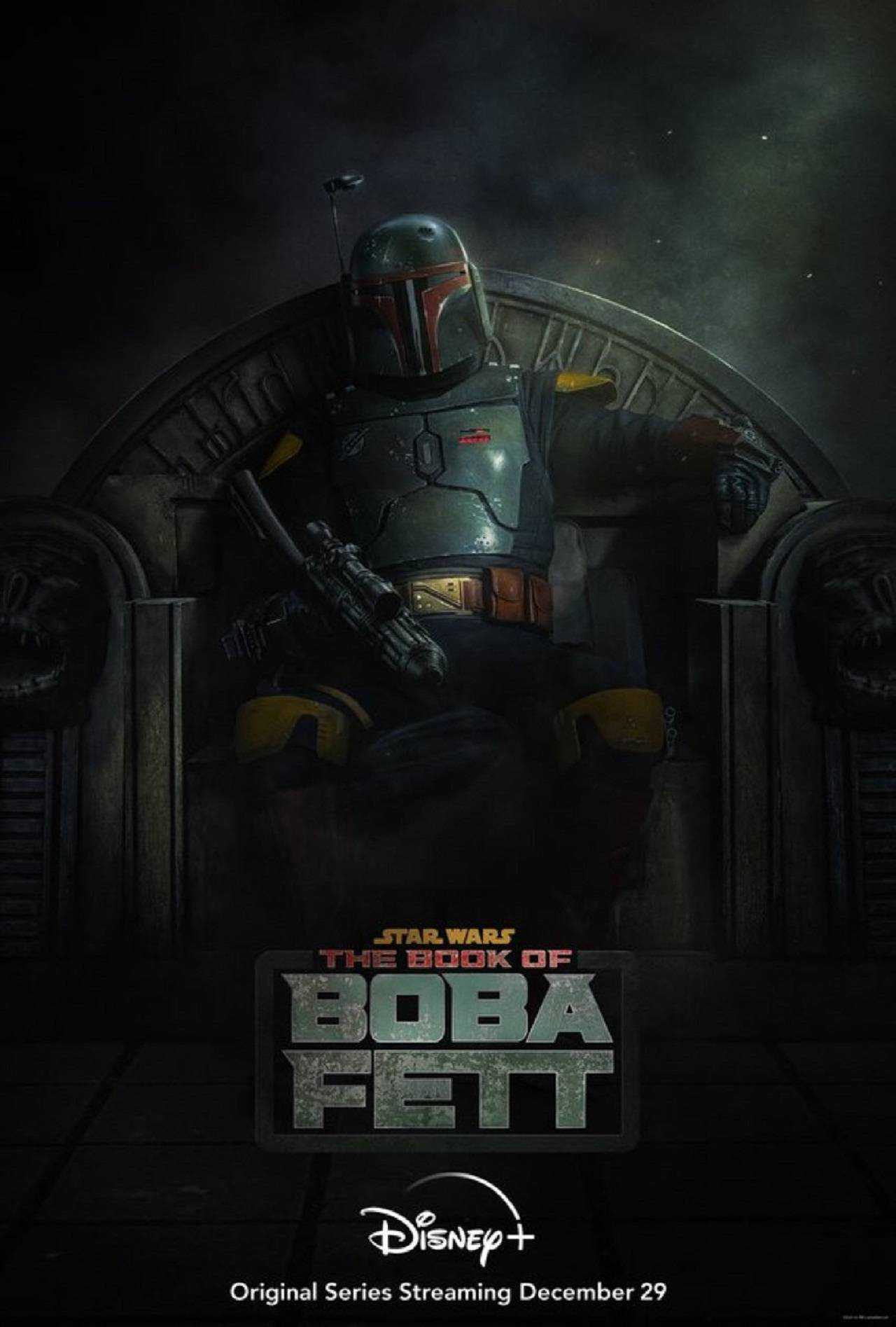 The Book of Boba Fett Fecha de Estreno Disney+ Póster Oficial