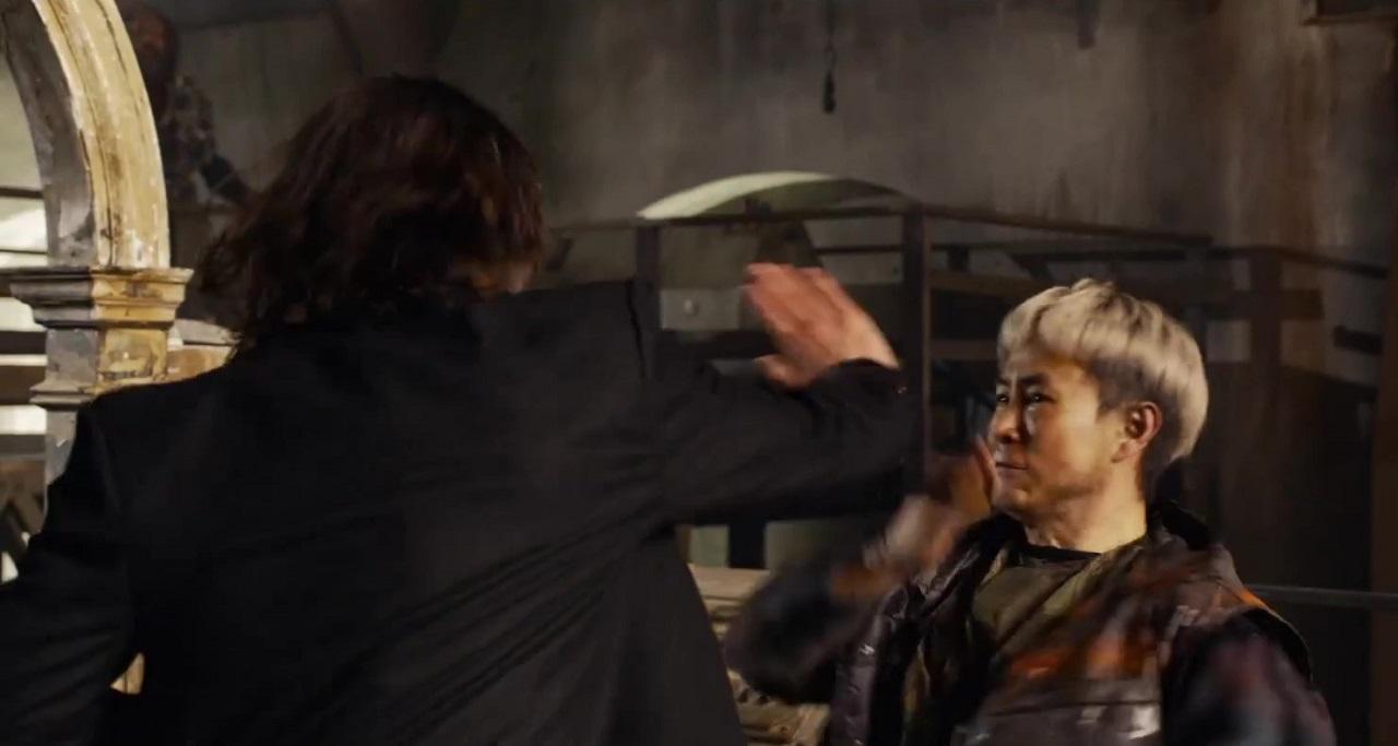 Keanu Reeves Maestro de Artes Marciales The Matrix Resurrecitions Estar Eggs Tiger Hu Chen