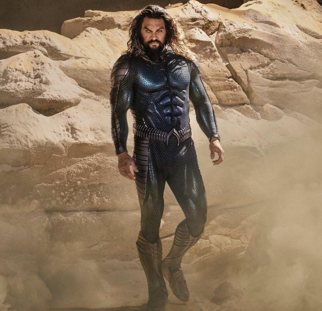 Aquaman nuevo traje the lost kingdom azul