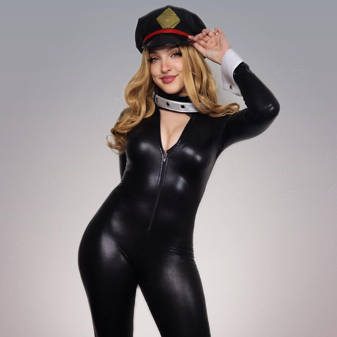 my hero academia camie policia cosplay sexy
