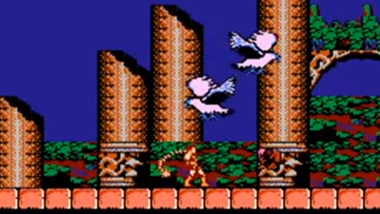 Castlevania cuarto nivel 1986