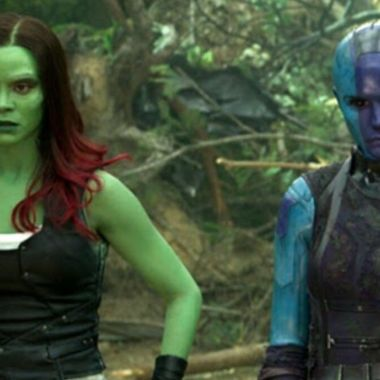 Guardianes de la galaxia gamora nebula hermanas