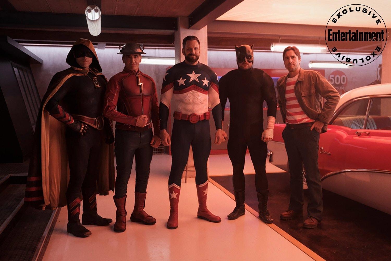 The Flash stargirl jsa equipo Jay Garrick