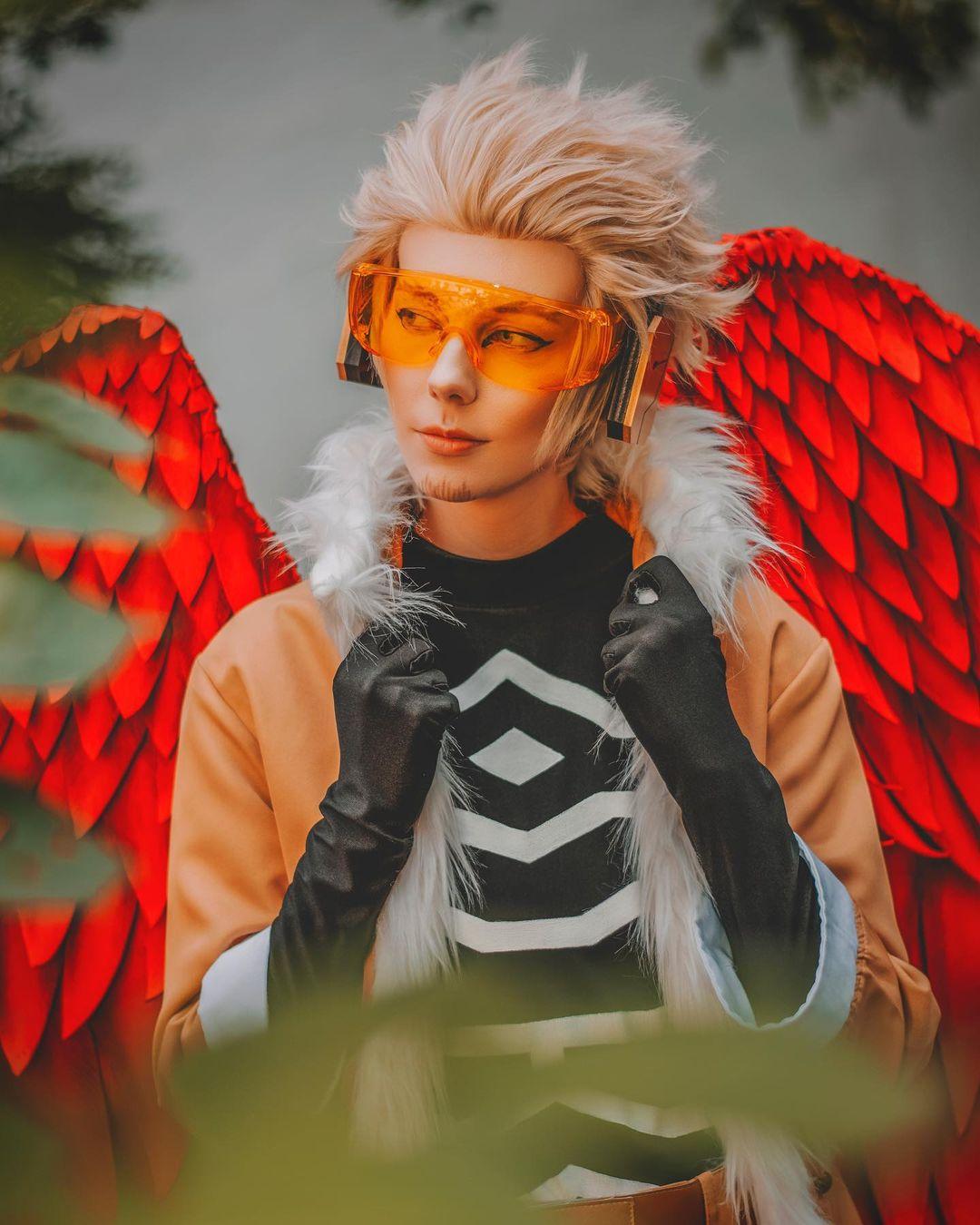 Hawks Keigo Takami my hero academia cosplay sanny cosplayer