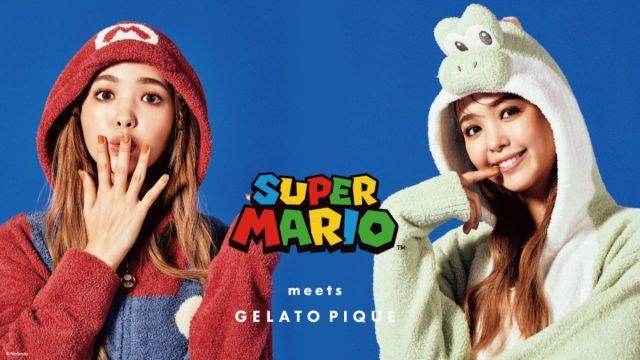 pijamas colección super mario nintento tokio