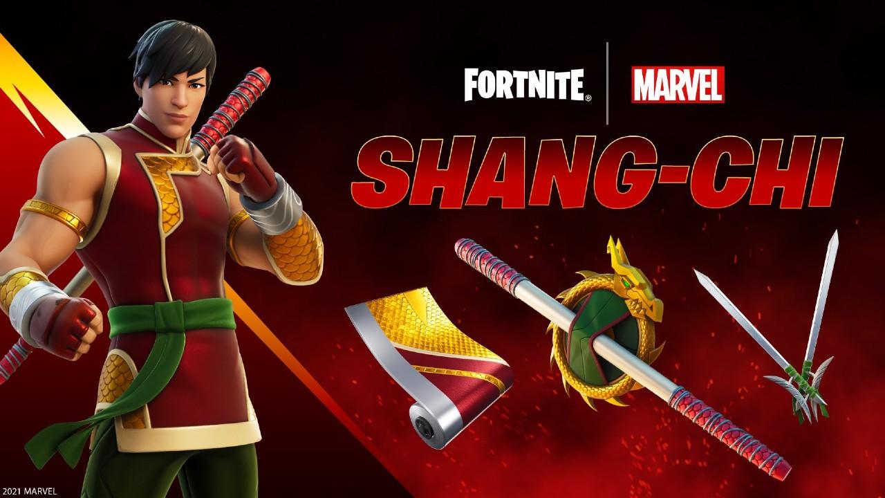 Shang-Chi skin fortnite filtracion precio