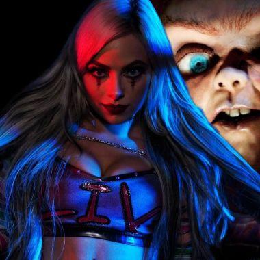 Chucky WWE Liv Morgan Monday Night Raw Cosplay Terror