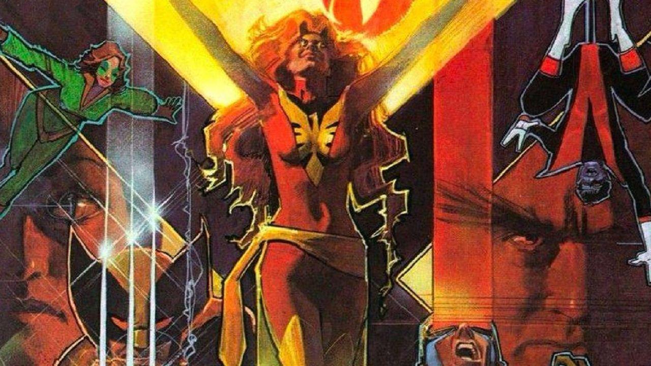 personajes de marvel dark phoenix