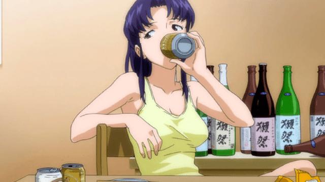 personajes de evangelion anime
