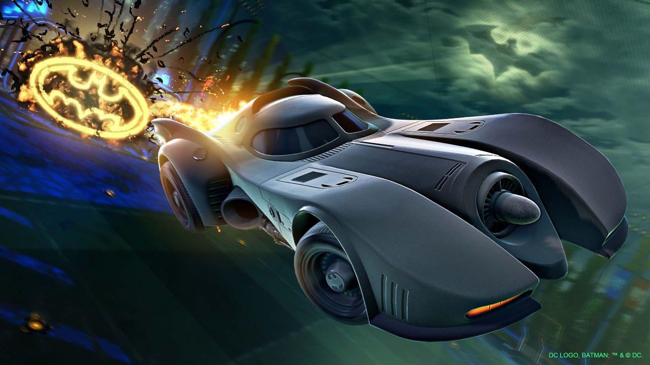 Rocket League Batman Batimóvil 89