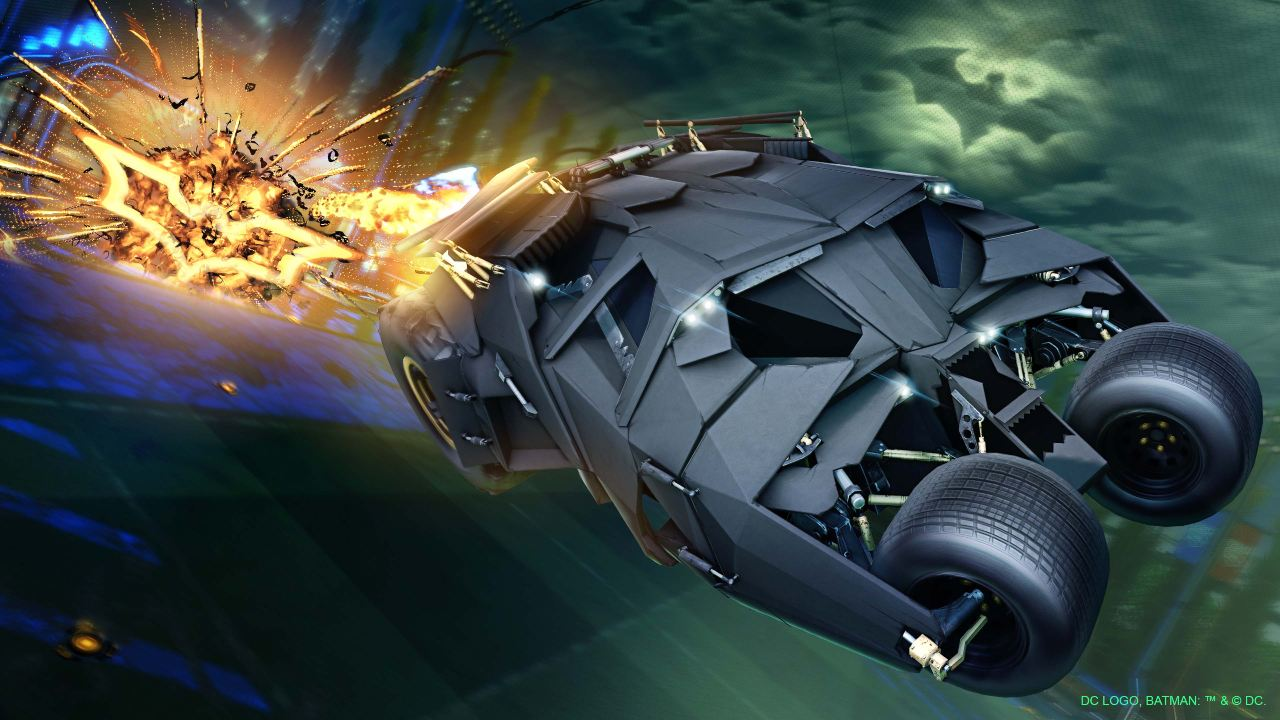 Rocket League batimóvil tumbler