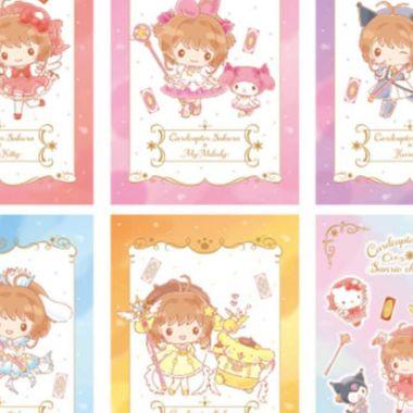 Sakura sanrio colaboración personajes