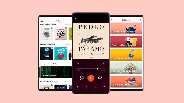 storytel app audio libros podcast mexico