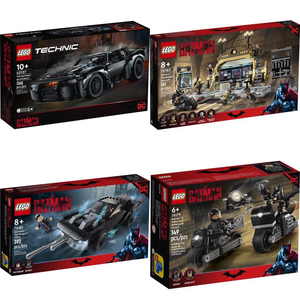 Lego the batman nuevo sets