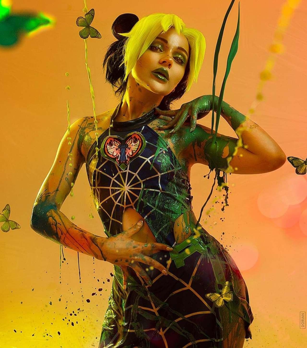 alco loli cosplay colores Jolyne