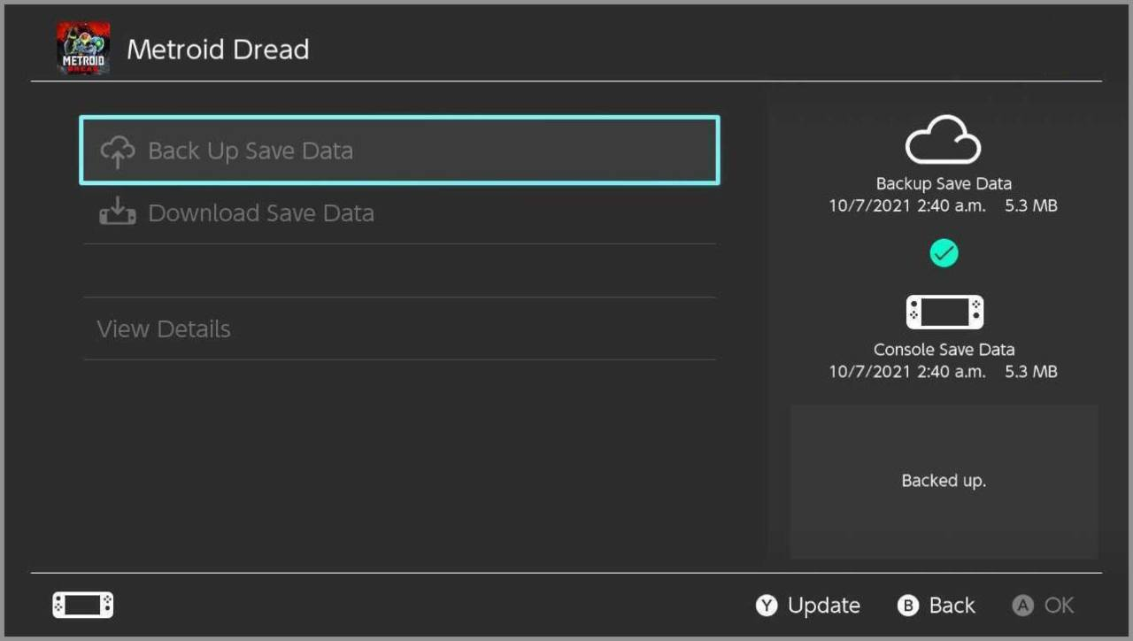 segundo método tranferir archivos Switch