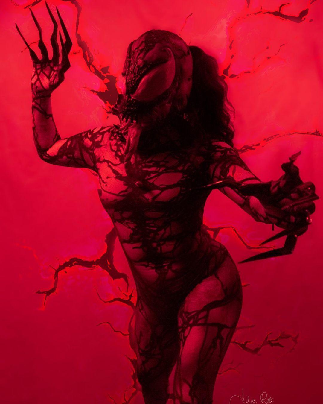 she carnage cosplay venom 2 mujer