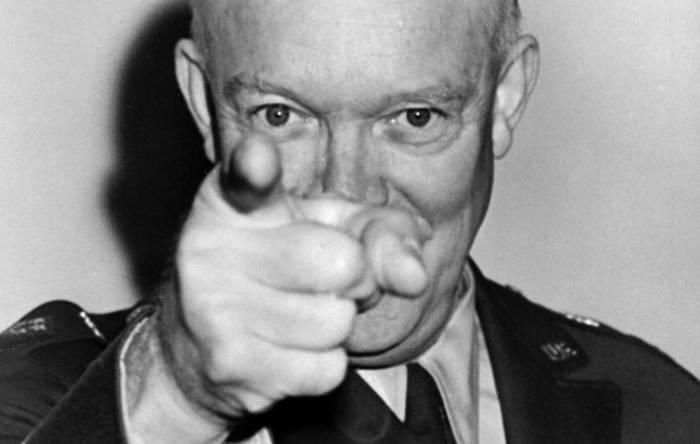 Dwight Eisenhower, ex Presidente de Estados Unidos