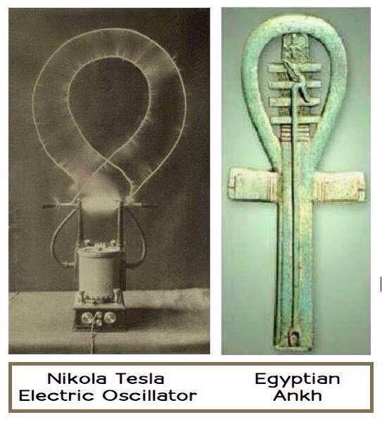 %name ¿Es la cruz Egípcia el origen del uso del electromagnetismo en el antíguo Egipto?