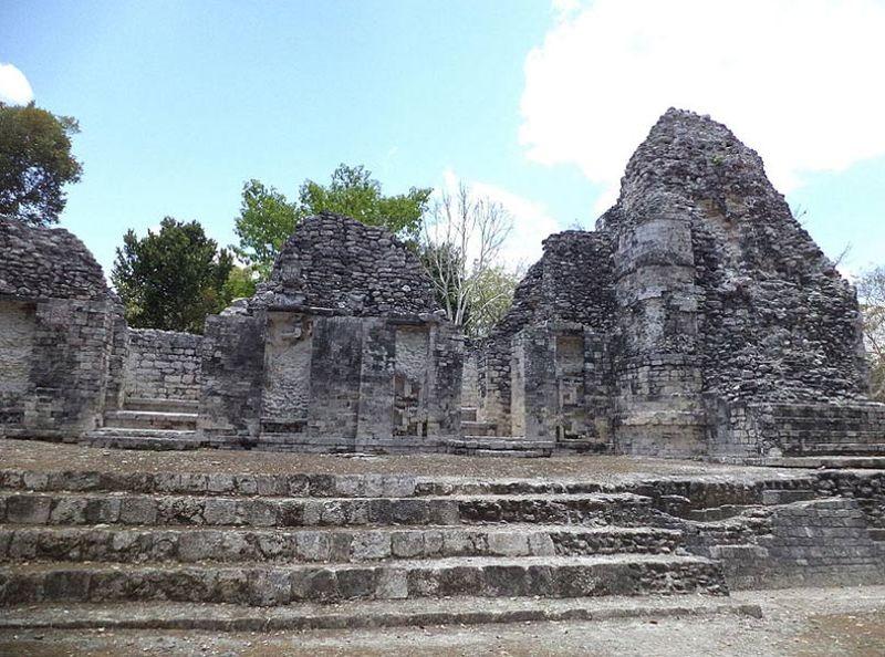 Mayan ruins of Chicanna, Mexico