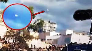 UFO during earthquake in Mexico