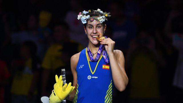 Carolina Marín: triple corona mundial de bádminton