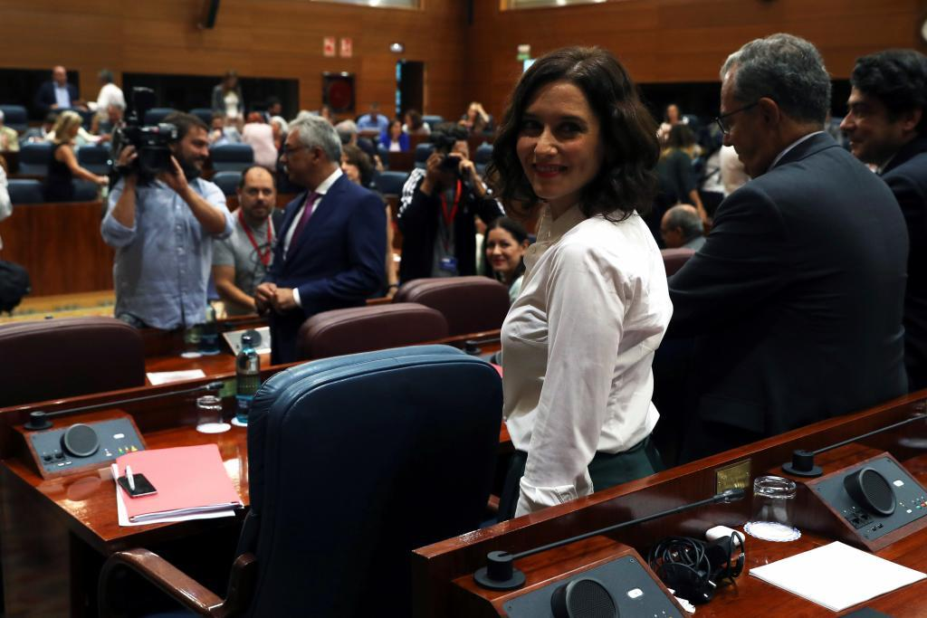 Isabel Díaz Ayuso. EFE/ J.J. Guillén