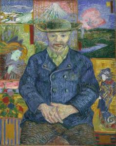 Retrato de Père Tanguy, de Van Gogh - Fuente: Musée Rodin