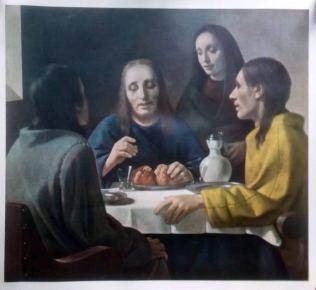 La cena con Emaús por Han Van Meegeren (falsificación de Vermeer)