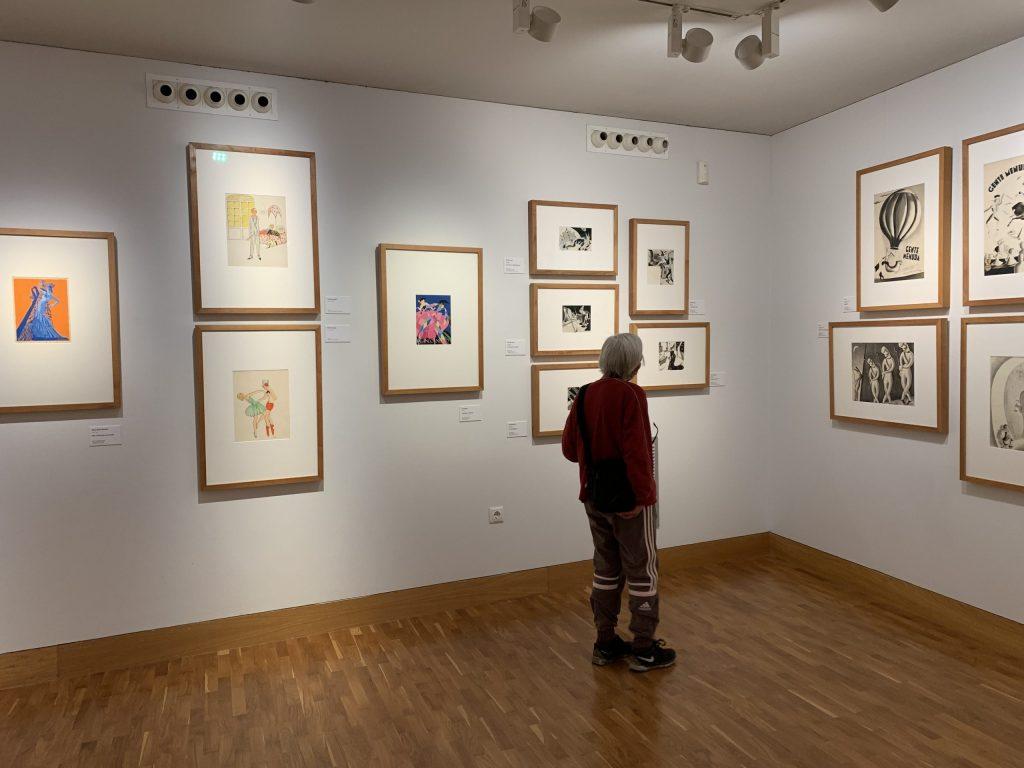 Exposición 'Dibujantas' en el Museo Pablo Gargallo de Zaragoza./ Fuente: Pilar Sariñena